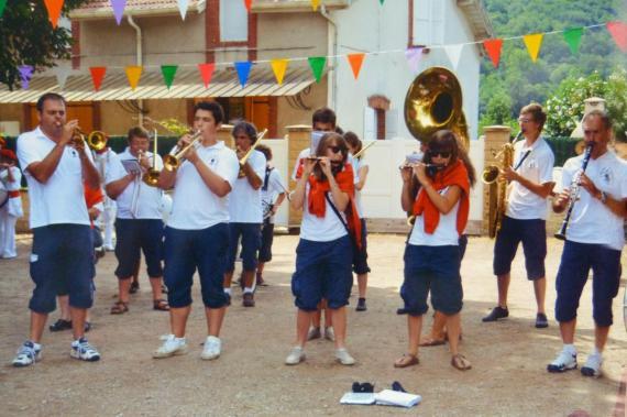 Festival de Bandas à Bouillac Août 2012